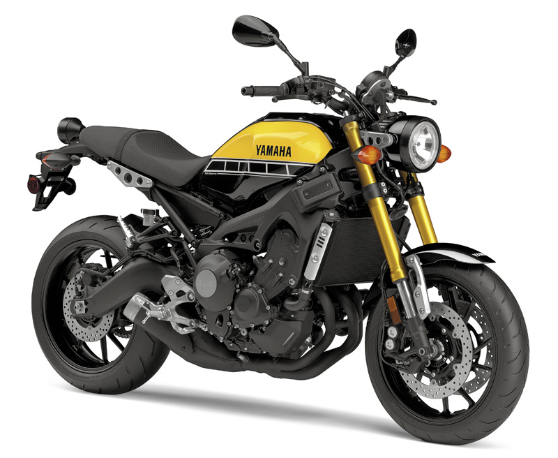 2016 Yamaha XSR900 in 60th Anniversary Yellow