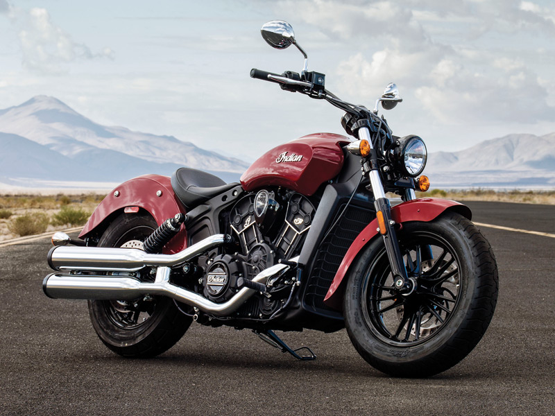 2016 Indian Scout Sixty in Indian Motorcycle Red