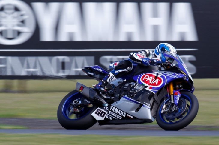 Guintoli leads the charge to Tissot-Superpole as YZF R1 tops Day 1